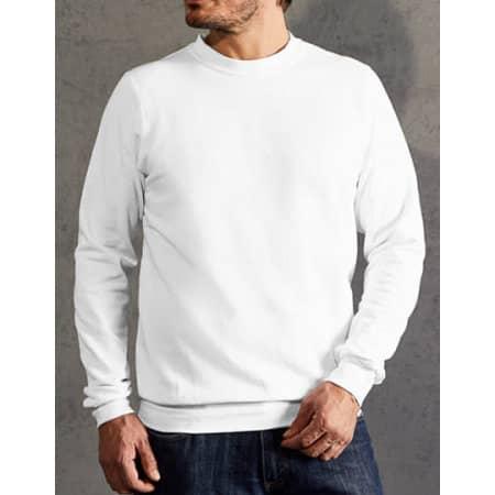 New Men`s Sweater 80/20 in White von Promodoro (Artnum: E2199N