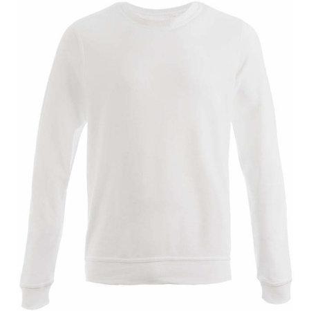 Unisex Interlock Sweater 50/50 in White von Promodoro (Artnum: E2899