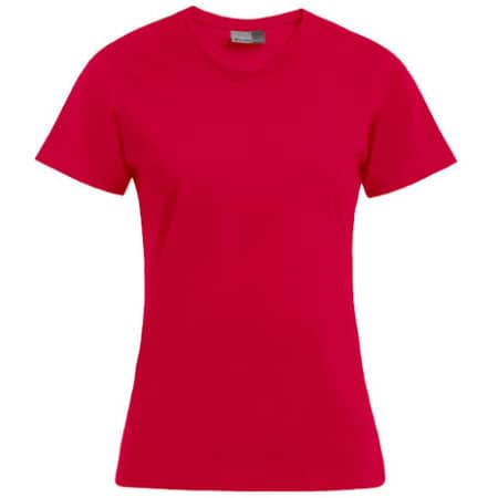 Women`s Premium-T in Fire Red von Promodoro (Artnum: E3005