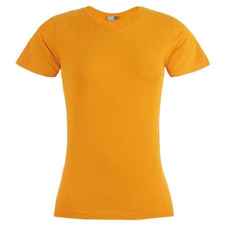 Women`s Premium-T in Orange von Promodoro (Artnum: E3005