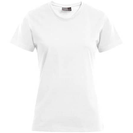 Women`s Premium-T in White von Promodoro (Artnum: E3005