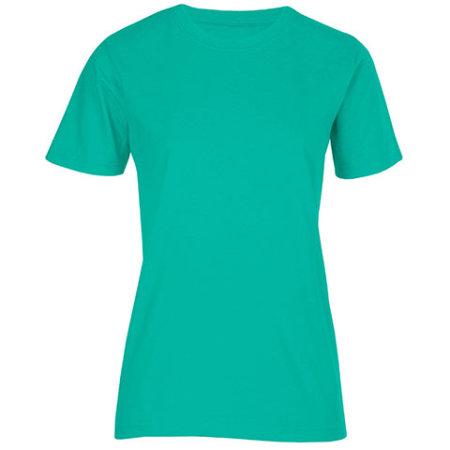 Women`s Fashion Organic-T in Emerald von Promodoro (Artnum: E3012