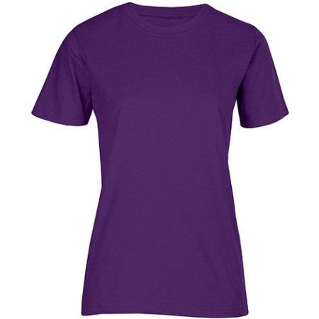 Women`s Fashion Organic-T in Purple von Promodoro (Artnum: E3012