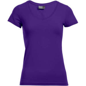 Women`s Slim Fit V-Neck-T