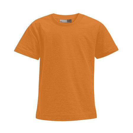 Kids` Premium-T in Orange von Promodoro (Artnum: E399