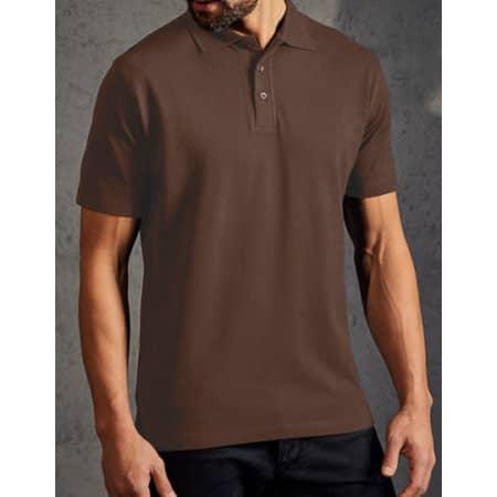 Men`s Superior Polo in Brown von Promodoro (Artnum: E4001