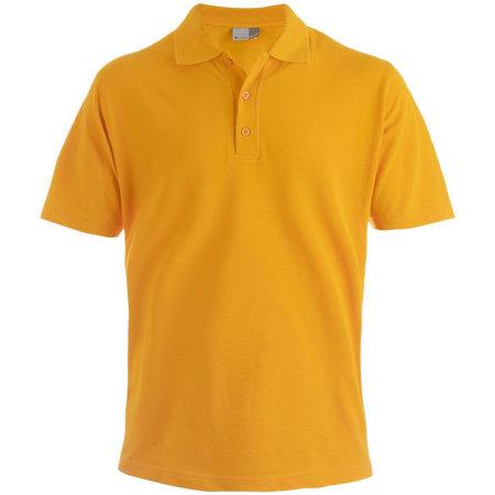 Men`s Superior Polo in Orange von Promodoro (Artnum: E4001
