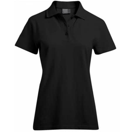 Women`s Superior Polo in Black von Promodoro (Artnum: E4005F