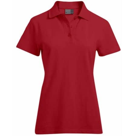 Women`s Superior Polo in Fire Red von Promodoro (Artnum: E4005F