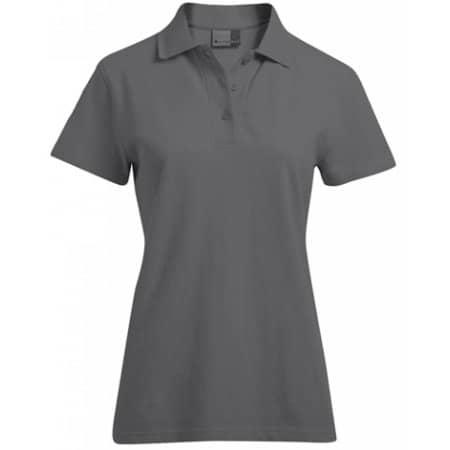 Women`s Superior Polo in Graphite (Solid) von Promodoro (Artnum: E4005F