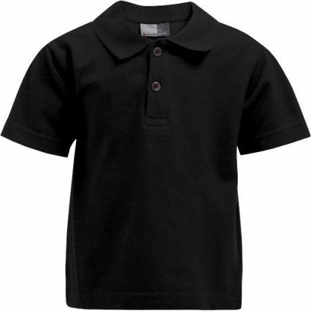 Kids` Premium Polo in Black von Promodoro (Artnum: E404