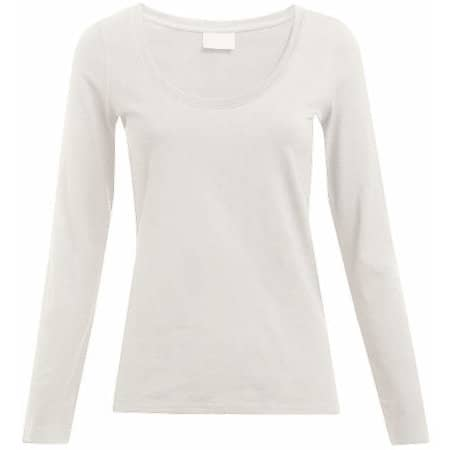 Women`s Slim Fit-T Longsleeve von Promodoro (Artnum: E4085