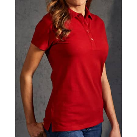 Women`s Polo 60/40 in Fire Red von Promodoro (Artnum: E4405