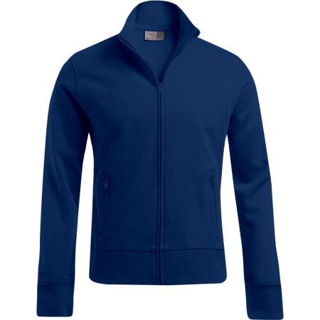 Men`s Jacket Stand-Up Collar in Steel Grey (Solid) von Promodoro (Artnum: E5290