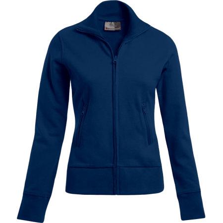 Women`s Jacket Stand-Up Collar in Navy von Promodoro (Artnum: E5295