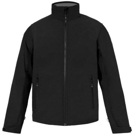 Men`s Softshell Jacket C+ in Black von Promodoro (Artnum: E7820