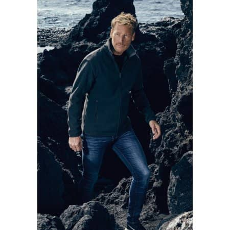 Men´s Double Fleece Jacket von Promodoro (Artnum: E7961