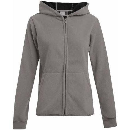 Women`s Hooded Fleece Jacket von Promodoro (Artnum: E7981