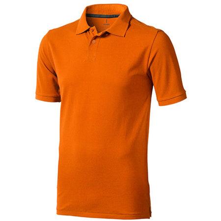 Calgary Polo in Orange von Elevate (Artnum: EL38080