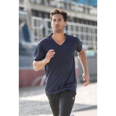 Amery V-Neck Men´s T-Shirt Cool Fit von Elevate (Artnum: EL39025