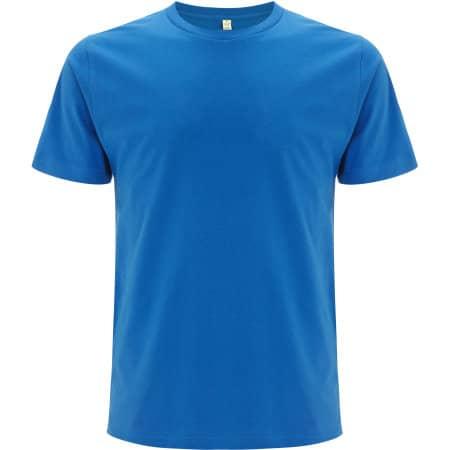 Unisex Organic T-Shirt in bright blue von EarthPositive (Artnum: EP01