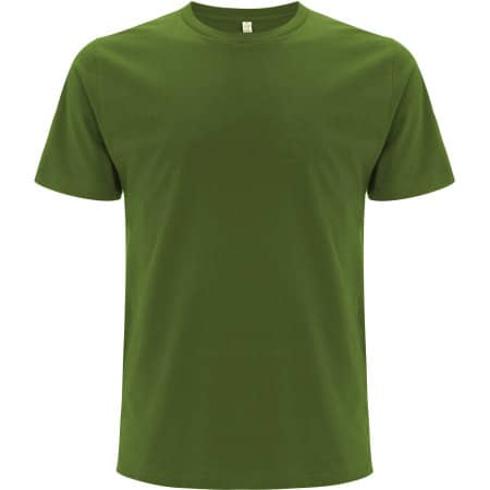 Unisex Organic T-Shirt in Leaf Green von EarthPositive (Artnum: EP01