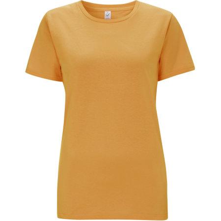 Women`s Classic Jersey T-Shirt in Mango von EarthPositive (Artnum: EP02