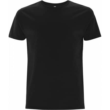 Men`s Standard T-Shirt in Black von EarthPositive (Artnum: EP10