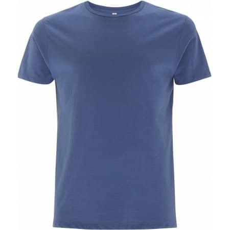 Men's Standard T-Shirt in Faded Denim von EarthPositive (Artnum: EP10