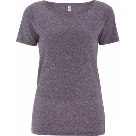 Women`s Special Yarn Effect T-Shirt von EarthPositive (Artnum: EP14