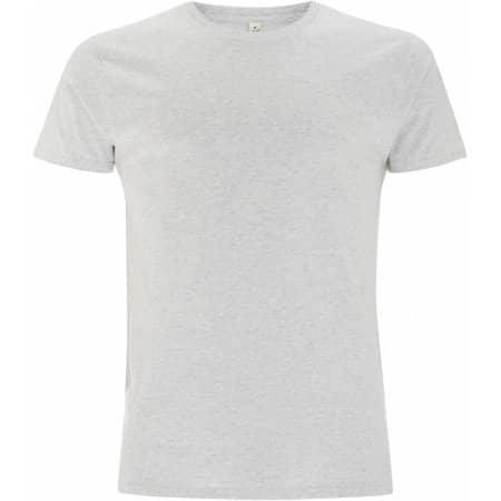 Men`s Special Yarn Effect T-Shirt in White Marl von EarthPositive (Artnum: EP15