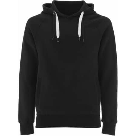 Unisex Organic Pullover Hoody in Black von EarthPositive (Artnum: EP60P
