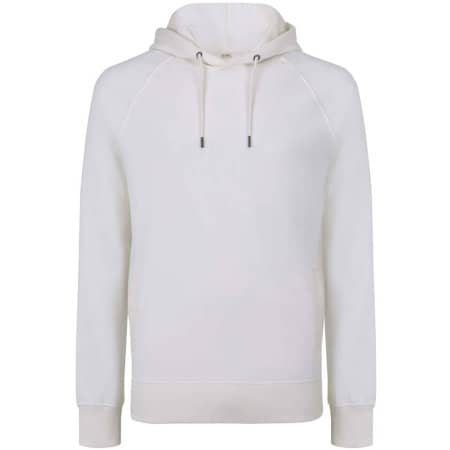 EarthPositive Organic Mens/Unisex Pullover Hoodie in White Mist von EarthPositive (Artnum: EP61P