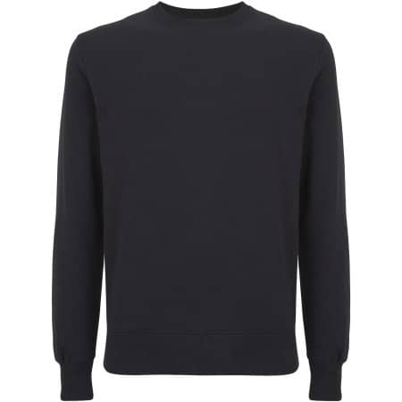 Unisex EP Organic Sweatshirt in  Black von EarthPositive (Artnum: EP62