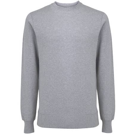Unisex EP Organic Sweatshirt in Melange Grey von EarthPositive (Artnum: EP62