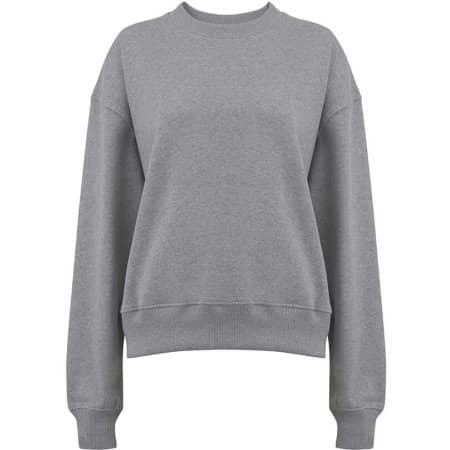 Heavy Womens Drop Shoulder Sweatshirt in Melange Grey von EarthPositive (Artnum: EP64