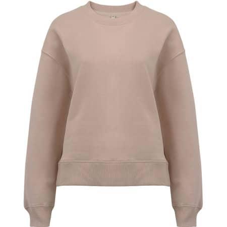Heavy Womens Drop Shoulder Sweatshirt in Misty Pink von EarthPositive (Artnum: EP64
