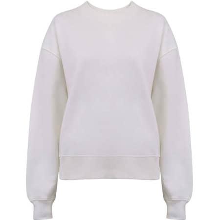 Heavy Womens Drop Shoulder Sweatshirt in White Mist von EarthPositive (Artnum: EP64