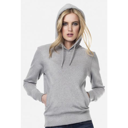 Womens Fashion Pullover Hoody von EarthPositive (Artnum: EP64P