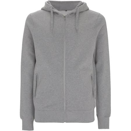 Mens/Unisex Organic Zip Up Hoody von EarthPositive (Artnum: EP68Z