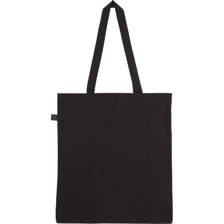 Earthpositive® Organic Shopper Bag in Black von EarthPositive (Artnum: EP70