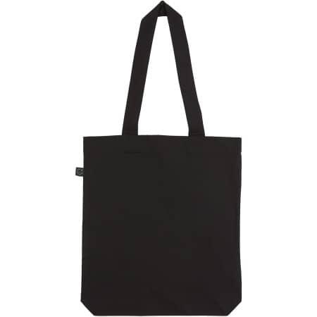Fashion Tote Bag Baumwolltasche aus Biobaumwolle in  Black von EarthPositive (Artnum: EP75