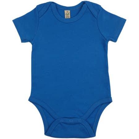 Baby Organic Babygrow in bright blue von EarthPositive (Artnum: EPB02