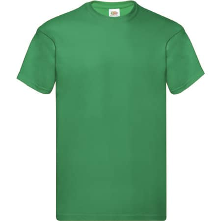 Original T in Kelly Green von Fruit of the Loom (Artnum: F110