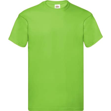 Original T in Lime von Fruit of the Loom (Artnum: F110