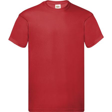 Original T in Red von Fruit of the Loom (Artnum: F110