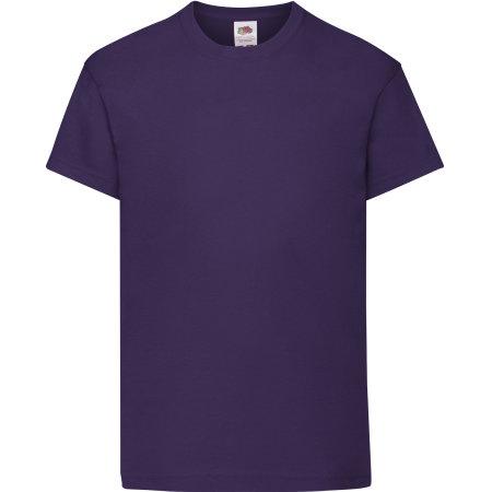 Kids Original T in Purple von Fruit of the Loom (Artnum: F110K