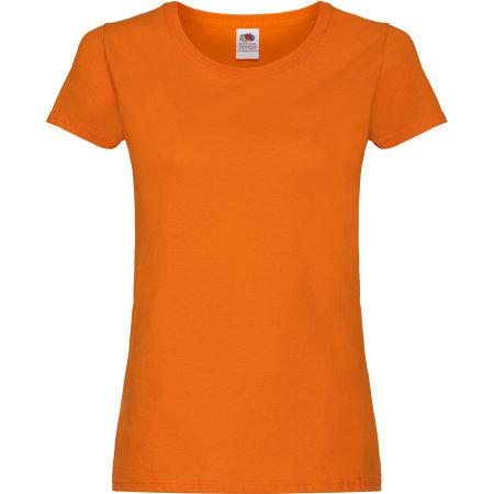 Ladies Original T in Orange von Fruit of the Loom (Artnum: F111