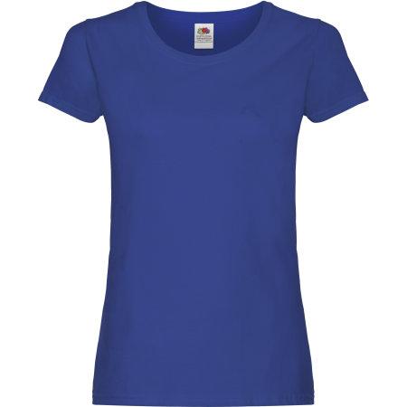 Ladies Original T in Royal Blue von Fruit of the Loom (Artnum: F111