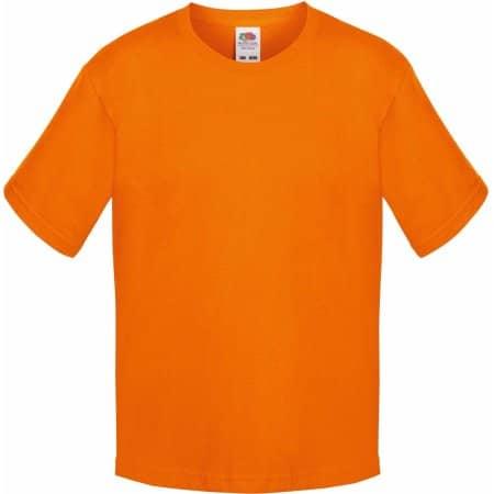 Sofspun® T Kids in Orange von Fruit of the Loom (Artnum: F150k